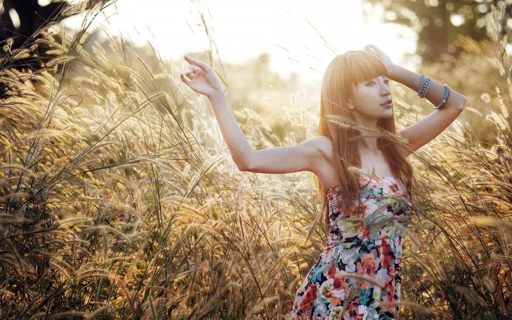 girl-asian-mood-field-nature-hd-wallpaper